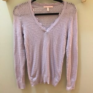Victoria's Secret light weight lilac sweater M